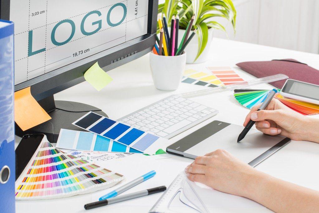 Redesigning the logo