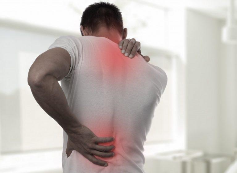 super back pain