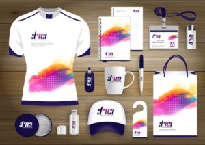 branded merchandise, different items