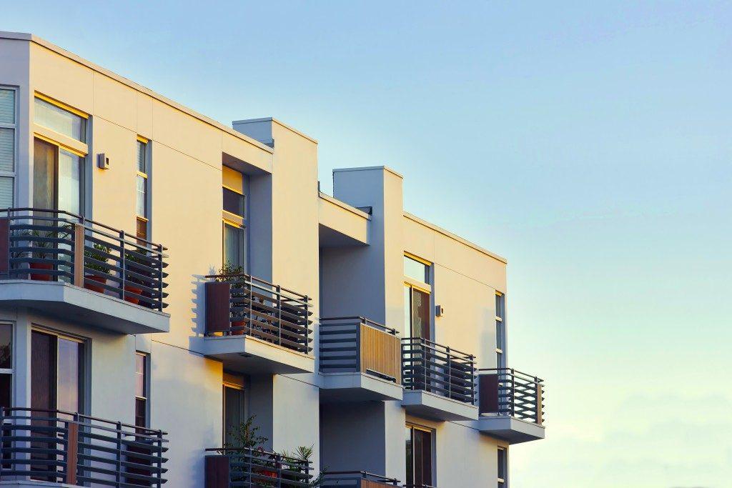 Modern rental apartments