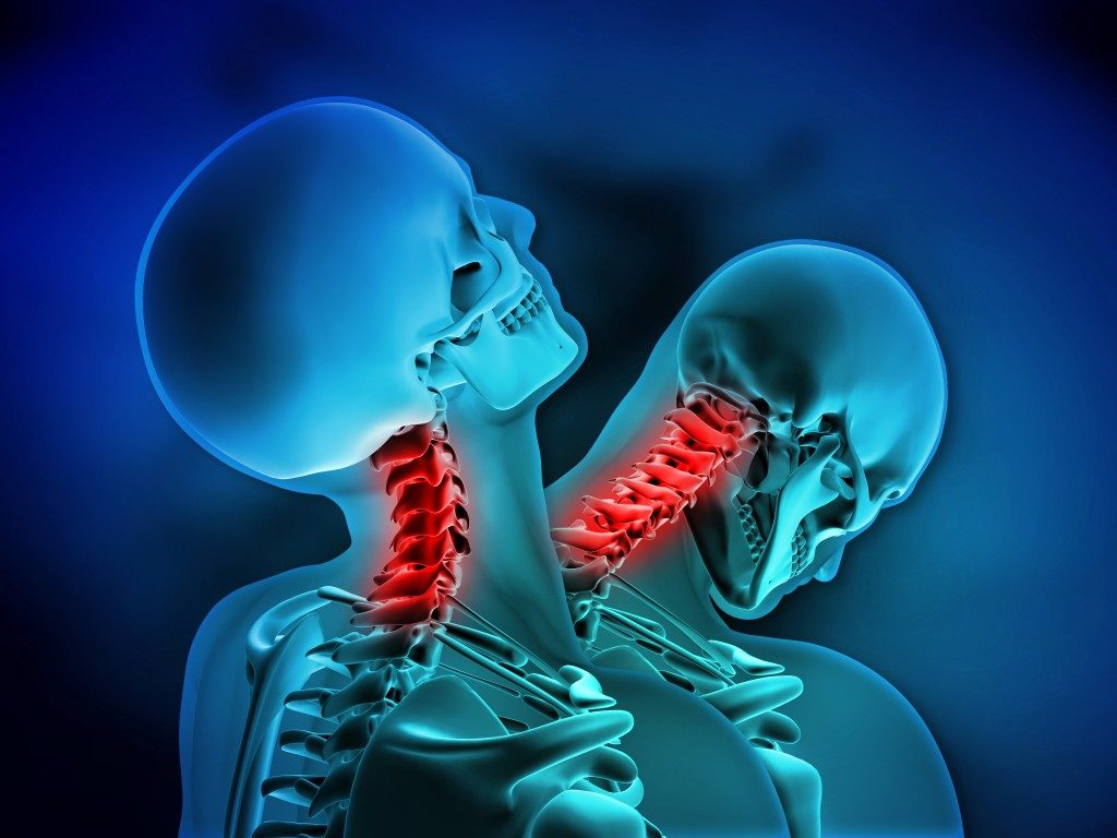 Whiplash neck injury