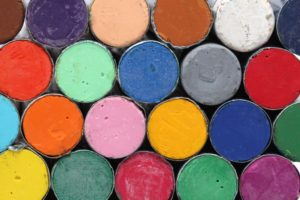 oil pastel crayons